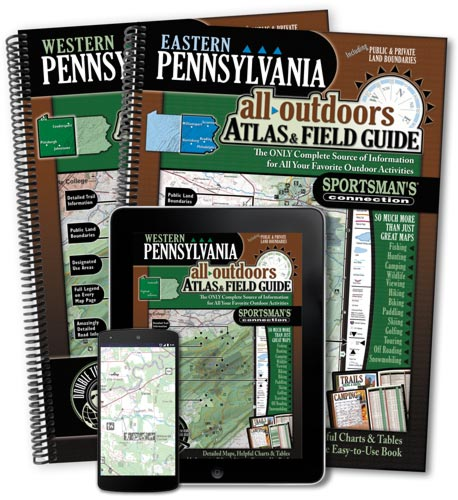 Pennsylvania All-Outdoors Atlas & Field Guides
