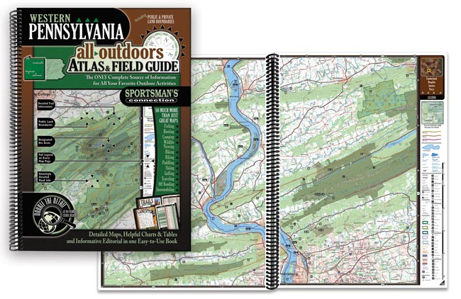 Pennsylvania All-Outdoors Atlas and Field guide