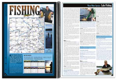 Pennsylvania All-Outdoors Atlas Fishing pages
