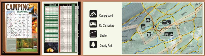 Pennsylvania All-Outdoors Atlas Camping Overview