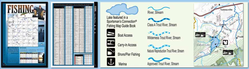 Pennsylvania All-Outdoors Atlas Fishing Overview