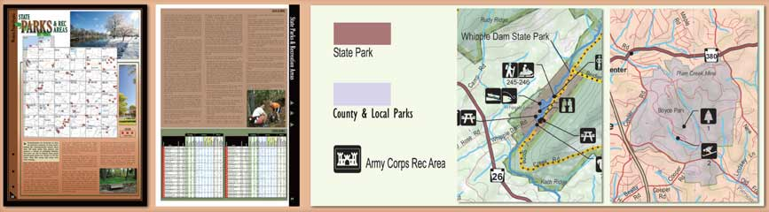 Pennsylvania All-Outdoors Atlas State Parks Overview