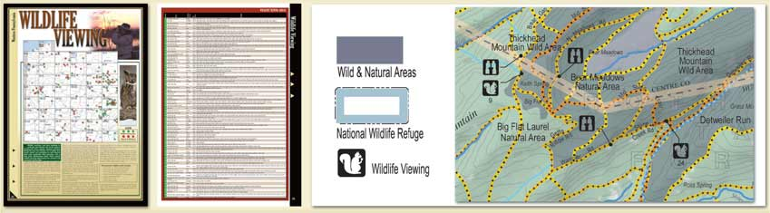 Pennsylvania All-Outdoors Atlas Wildlife Viewing Overview