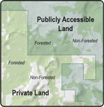 Public land boundaries