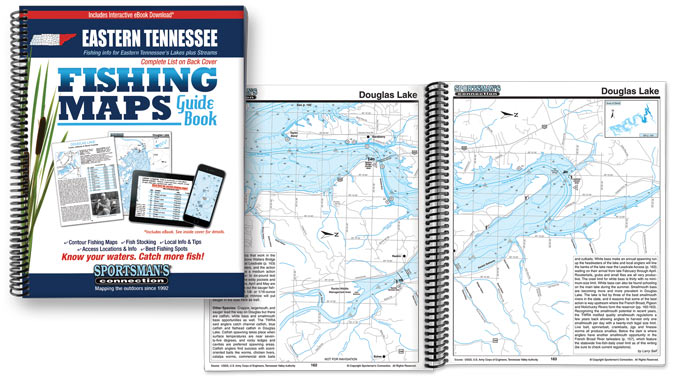 Tennessee Fishing Map Guides