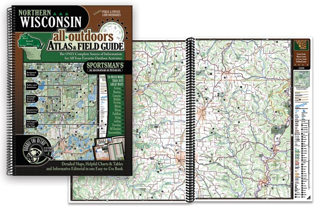 Wisconsin All-Outdoors Atlas & Field Guides