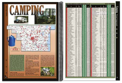 Wisconsin All-Outdoors Atlas Camping Overview