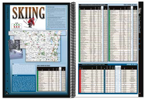Wisconsin All-Outdoors Atlas Skiing Overview