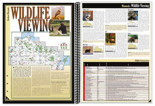 Wisconsin All-Outdoors Atlas Wildlife Viewing Overview