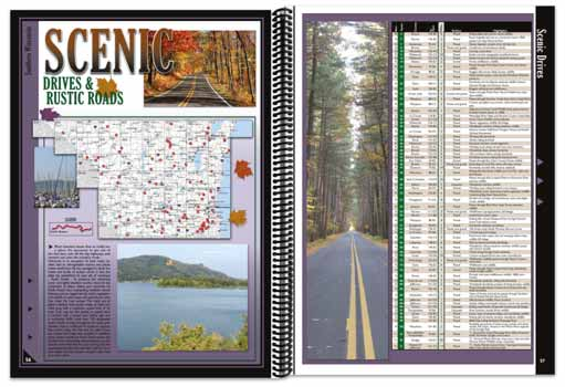 Wisconsin All-Outdoors Atlas touring pages