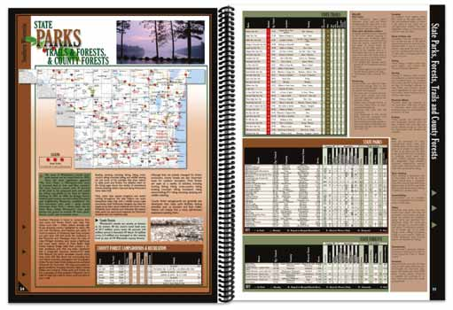 Wisconsin All-Outdoors Atlas State Parks Overview