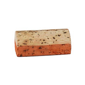 Hand Dyed - Light Orange - Wine Cork Place Card Holders Corkey Creations