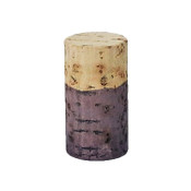Hand Dyed - Light Purple - Wine Cork Place Card Holders - Double Vertical Corkey Creations