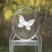 Butterfly Chair Back Decor