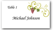 Place Cards - Grapes - CorkeyCreations.com