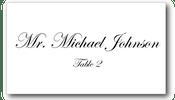 Place Cards - Plain - CorkeyCreations.com