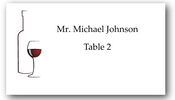 Place Cards - Red Wine - CorkeyCreations.com