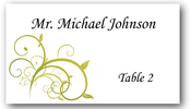 Place Cards - Swirl - CorkeyCreations.com