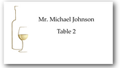 Place Cards - White Wine - CorkeyCreations.com