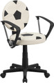 Soccer Task Chair with Arms , #FF-0378-14