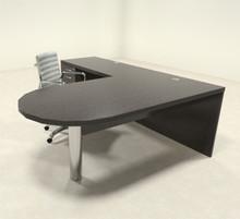 3pc Modern Contemporary L Shaped Executive Office Desk Set Ro Abd L9