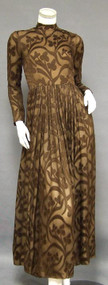 Norman Norell Chiffon Gown
