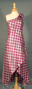 OUTRAGEOUS Mr. Blackwell One Shouldered Evening Dress