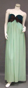 EXQUISITE Sarmi Boutique Two Toned Strapless Goddess Gown