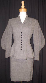 1940's Lilli Ann Suit w/ AMAZING Sleeves