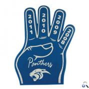 "16"" 4-Finger Foam Cheering Hand - FH416"