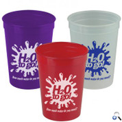 Cups-On-The-Go - 12oz. Trans. Stadium Cup - SC12T