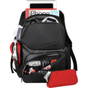 Elleven™ Prizm Checkpiont-Friendly Compu-Backpack - 0011-49