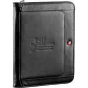 Wenger® Exec Leather Zippered Padfolio Bundle Set - 1355-10