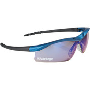Safety Works DallasBlue® Mirrored Safety Glasses - 1914-09