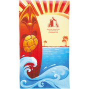 14 lb./doz. Surf Board Beach Towel - 2090-27