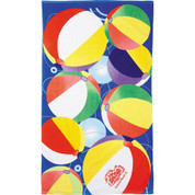 14 lb./doz. Beach Ball Beach Towel - 2090-31