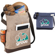 Chambray Foldover Tablet Tote - 2301-14