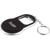 Circle Bottle Opener Keylight (Black) - 6640-15