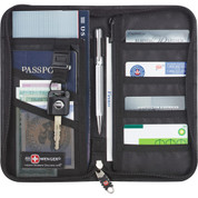 Wenger® Leather Travel Wallet - 9350-64