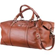 Cutter & Buck® Leather Weekender Duffel - 9800-83