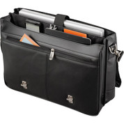 Kenneth Cole® Manhattan Leather Compu-Messenger - 9950-12