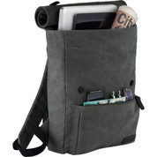 Kenneth Cole® Canvas Compu-Backpack - 9950-63