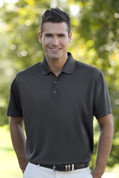 Add Your Logo to Vansport Omega Solid Mesh Tech Polo - 2600