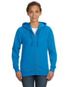 Add Your Logo to LAT - Ladies Full Zip Hoodie - 3763