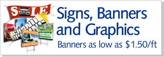 Sign, Banners & Graphics
