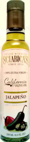 Sciabicca jalapeno olive oil 250 ml