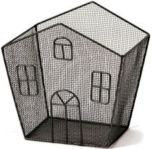Wire Mesh House Basket