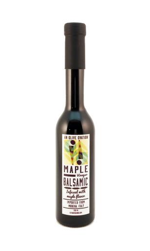An Olive Ovation maple flavored balsamic vinegar 250 ml