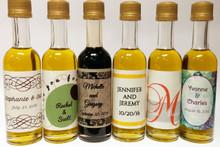 Order petite bottles of olive oil & balsamic