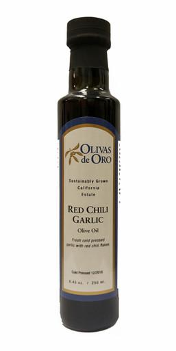 Olivas de Oro Red Chili Garlic Olive Oil